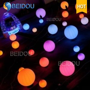 Christmas Decorations Custom PVC Inflatable Zygote Balls LED Lighted Balloons pictures & photos