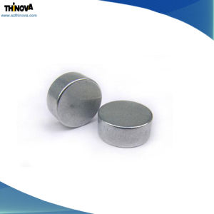 Customizable Size Neodymium Disc Shape Magnet with Customizable Plating pictures & photos
