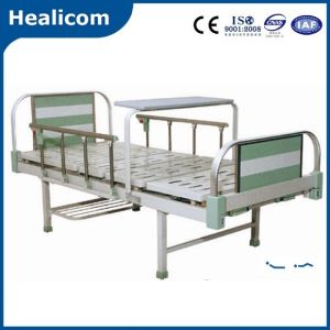 Aluminum Alloy Two Function Manual Medical Bed pictures & photos