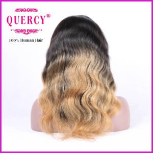 Blond Color 8A Grade Brazilian Hair 100% Natural Hair 2016 Top Sale Silk Virgin Human Hair Front Lace Wigs pictures & photos