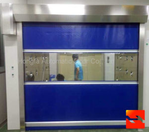 Semi-Knocked Down Roller Shutter Doors (HF-128) pictures & photos