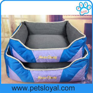 Manufacturer Canvas Fabric Pet Luxury Dog Bed pictures & photos