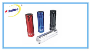Bozhou New Product Bright Colorful LED Mini Flashlight Torch pictures & photos