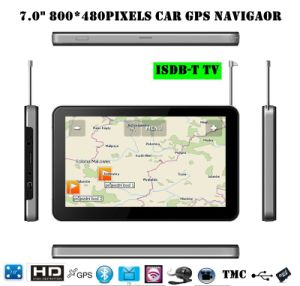 "Hot 7.0""Car GPS Navigator with FM, Bt, ISDB-T TV, Tmc, AV-in pictures & photos"