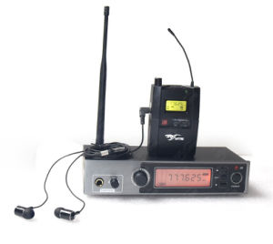 in Ear Stereo UHF Pll Monitoring System pictures & photos