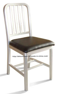 Emeco Dining Restaurant Coffee Nature PU Seat Aluminum Navy Chair pictures & photos