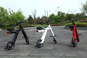Red White Black Mini Foldable Scooter 250W pictures & photos