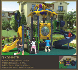 Kaiqi Small High Quality Slide Set for Children′s Playground - Available in Many Colours (KQ50067B) pictures & photos