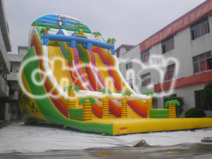 Hot-Selling Dry Slide Inflatable Dinosaur Slide for Adults and Children pictures & photos