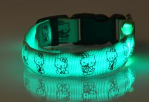 Factory Supplier LED Collars for Dogs/LED Flashing Dog Collar for Christmas pictures & photos