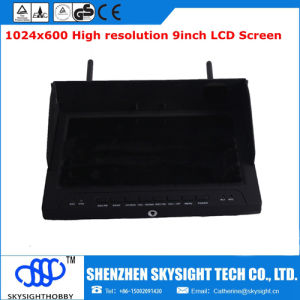 "5.8g 40CH 9"" HDMI Fpv No Blue Screen Monitor with Diversity Receiver"