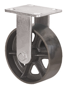 Heavy Duty Caster Series - 6in. Rigid Cast Iron Wheel pictures & photos