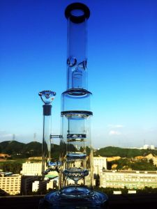 Enjoylife 47cm Borosilicate Material Glass Water Pipe pictures & photos