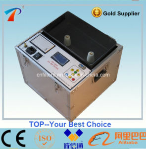 ASTM D1816 Onsite Use Insulating Liquids Oil Tester for Measuring The Electric Breakdown Strength (DYT-75) pictures & photos