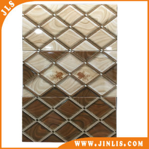 Antique Grid Yellow Ceramic Wal Tile for Kitchen (30600039) pictures & photos
