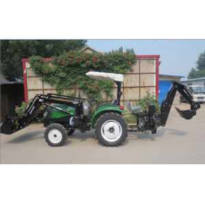 CE Approved Tractor Made in China with Loader/Backhoe pictures & photos