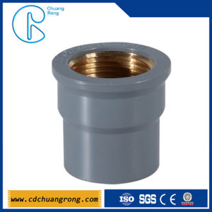 2 Inch PVC Pipe Fittings Female Coupling (copper thread) pictures & photos