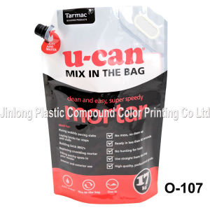Heavy Duty Doy Spout Pouch Packaging Bag with Handle Hole pictures & photos