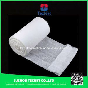 ISO Certified Medical Disposable Gauze Roll pictures & photos