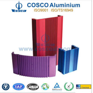Customized Aluminium Heat Sink Extrusion for Amplifier pictures & photos