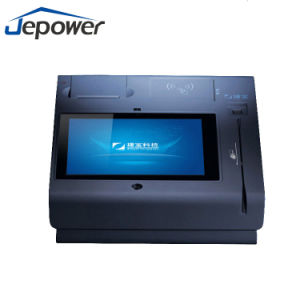 Desk Topup POS Terminal with NFC Reader and Thermal Receipt Printer pictures & photos
