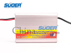 Suoer Manufacture Intelligent 12V 10A Automatic Car Battery Charger with Ce (MA-1210A) pictures & photos