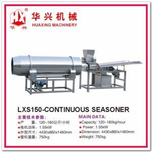 Lxs150-Continuous Seasoner (Seasoning Machine For Crisp Puff Snacks) pictures & photos