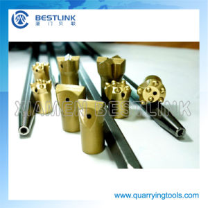 Various Type of Rock Blasting Tapered Stainless Drill Rods pictures & photos