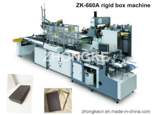 Rigid Set-Up Box Making Machine (Pass CE) pictures & photos