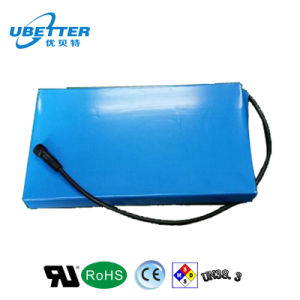 LiFePO4 Battery Pack 48V10ah Customized for Bicycle pictures & photos