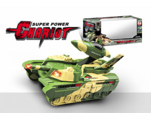 Battery Operated Toys B/O Tank for Kids (H6614007) pictures & photos