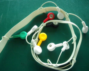 Mortara 12pin IEC Snap&Clip EKG/ECG Cable pictures & photos