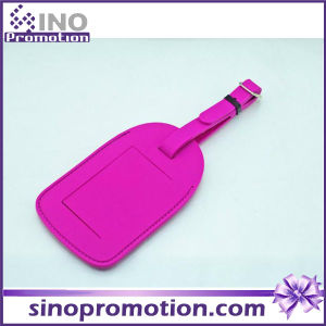 Wholesale Custom Airplane Leather Luggage Tag pictures & photos