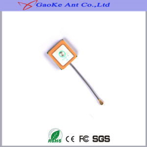 Patch GPS Active Internal Antenna with 1.13cable Ipex (GKZS-GPSJZ032-6X16X4mm) GPS Patch Internal Antenna pictures & photos