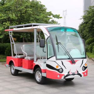 Marshell 8 Seaters Electric Sightseeing Cart Tourist Bus (DN-8F) pictures & photos
