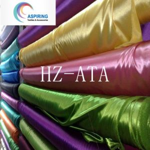 Printing Satin 75D*150d 100% Polyester Satin Fabric pictures & photos