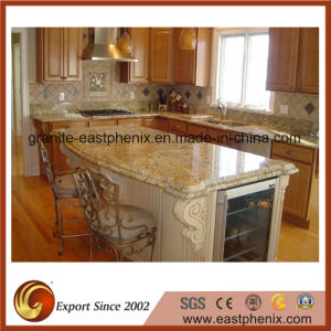 Yellow River Granite Kitchen Countertop pictures & photos