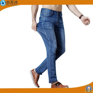 Factory Wholesale Fashion Stretch Denim Cotton Jean Pants for Men pictures & photos