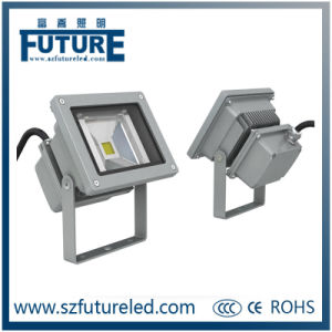 COB 10W PF>0.9 LED Floodlight with CE RoHS pictures & photos