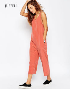 Casual Wide Leg Minimal Sport Jumpsuit pictures & photos