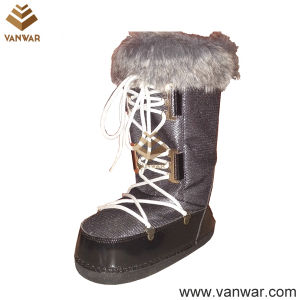 New Design Military Snow Women Boots with Warm Wool (WSB036) pictures & photos