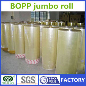 Premium Quality BOPP Adhesive Packing Tape Jumbo Roll Manufacturer pictures & photos