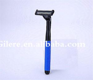 Japanese Best Quality Disposable Shaving Razor Triple Blade Hole Razor pictures & photos