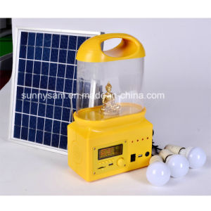 Rechargeable Portable Solar LED Camping Lantern Light pictures & photos