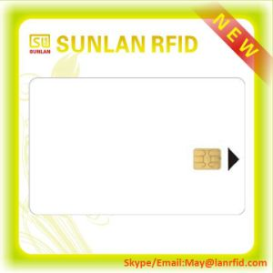 Nice Price Blank PVC Inkjet Contact IC Smart Card (Free samples) pictures & photos
