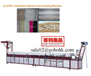 Silicone Reticulation Lace Non-Slip Coating Machine pictures & photos