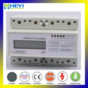 DIN Rail Industrial Three Phase Digital Energy Meter pictures & photos