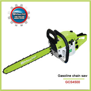 """18"""" (455mm) 45cc Garden Tool -Gasoline Chain Saw (GCS4500) pictures & photos"""