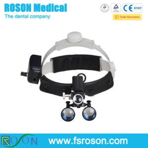 Medical LED Head Lamp with 3.5X Medical Loupe pictures & photos