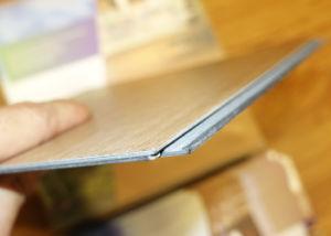 Non Slip Wood Look Luxury Click PVC Vinyl Flooring pictures & photos